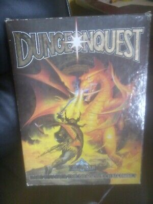 Vintage Dungeonquest Tile Boardgame Fantasy Roleplay Games Workshop Complete • 69.99£
