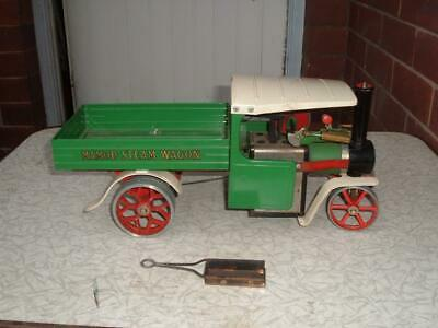 Malins Engineers Ltd Mamod Green Wagon Live Steam Unboxed Original Used Vintage • 158.50£