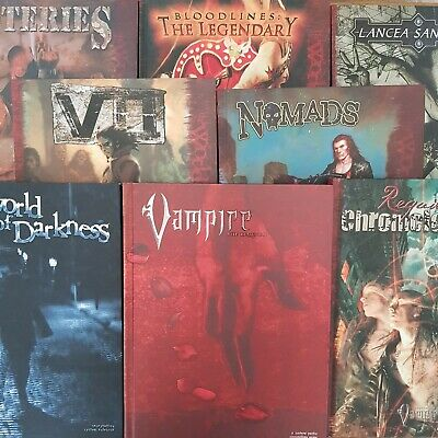 Vampire The Requiem Collection World Of Darkness Core Book Included Rpg Roleplay • 119.99£