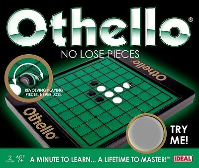 Othello 'No Lose Pieces' Game By IDEAL • 12.99£
