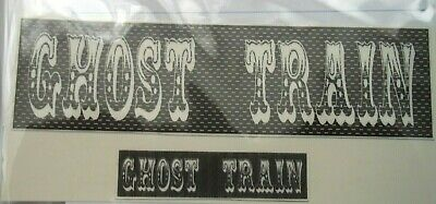 Funfair Ghost Train Clear Waterslide Decals For Code 3 Lot B • 3.30£