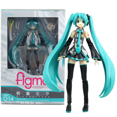 14cm Movable Anime Action Figure 014 Hatsune Miku Collectible Toy Doll UK SELLER • 18.60£
