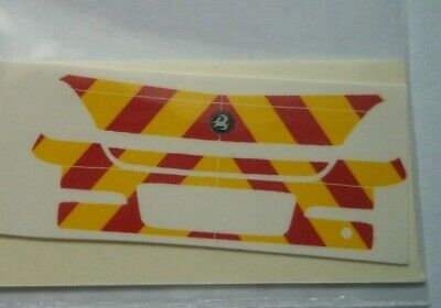 No 303 Police Chevron For Vauxhall Corsa Boot Code 3 Clear Waterslide Decals • 2.30£