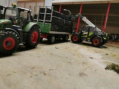 1:32 10x Square Silage Bales Perfect For Stacking And Around The Farm  • 6.50£