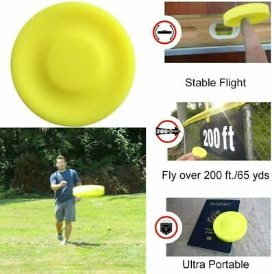 Pocket Flying Disc Mini Frisbee Flexible Finger Spin Catching Game Throwing Toys • 2.66£