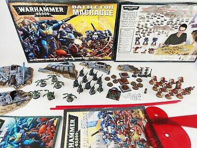 Battle For Macragge Warhammer 40k Board Game - Pro Painted 100% Complete [2004] • 299.95£
