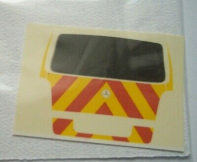 No 136 Police Chevron For Mercedes Vito Boot Code 3 Clear Waterslide Decals • 2.30£