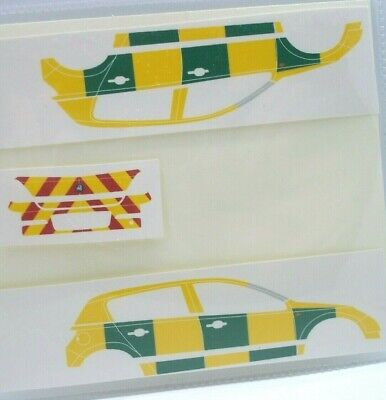 No 303 Paramedics Vauxhall Corsa Livery For Code 3 Clear Waterslide Decals  • 3£