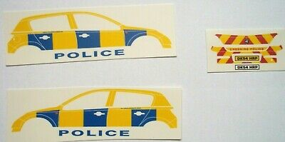 No 174 Police Vauxhall Corsa Livery Clear Waterslide Decals For Code 3 • 3£