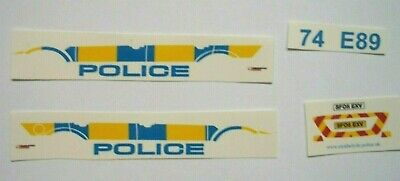 No 212 Police Mk 3 Ford Mondeo Livery For Code 3 Waterslide Decals  • 3£