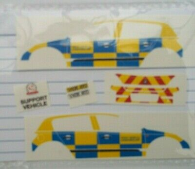 No 205 Police Vauxhall Corsa Livery For Code 3 Clear Waterslide Decals  • 3.50£