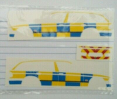 No 262 Police BMW Livery For Code 3 Clear Waterslide Decals  • 3.50£