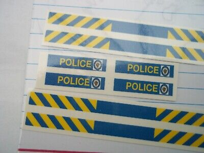 No 294 Police West Midlands Livery For Code 3 Clear Waterslide Decals  • 3.50£