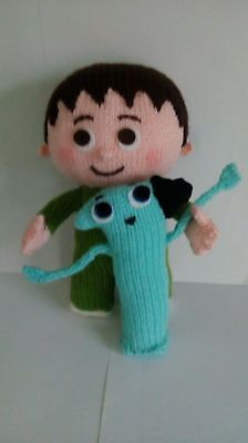 Hand Knitted Toy / Charlie And The Number One / Unofficial And Unbranded • 7.50£