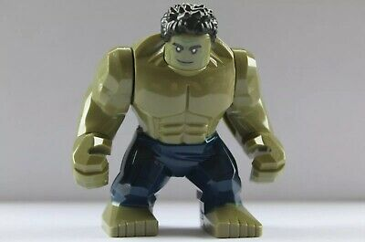 New Large Hulk MiniFigure Avengers End Game UK Seller Fits Lego • 4.90£