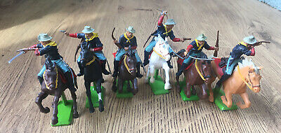 Britains Deetail  7th Cavalry Rare Chance To Get All 6 In A Set. • 72£