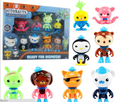 8PC Octonauts Expedition Action Figure Kid Childrens Toy Doll Gift Collection • 8.99£