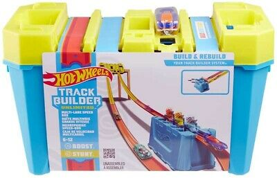 Hot Wheels Track Builder Unlimited Multi-Lane Speed Box Brand New  • 25.99£