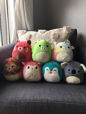 Very Good Condition 7 Squishmallows • 9£