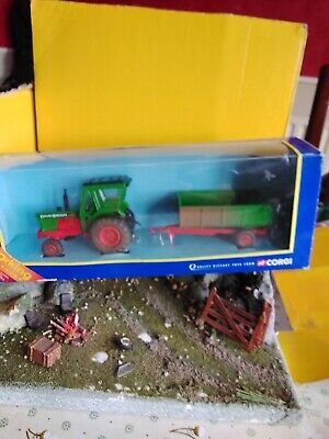 Corgi Tractor And Trailer Country Farm Made In 2000 Quality Diecast Toy • 7£