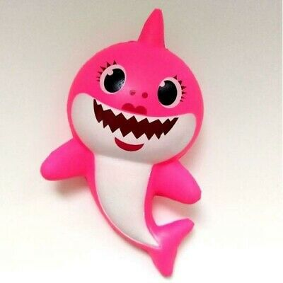 Squishy Baby Shark Pink For Todlers, Kids, 13 Cm Size • 8.99£