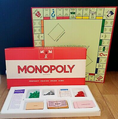 Vintage Monopoly Board Game. 1972  • 10£