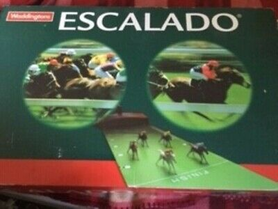 Escalado Horse Racing Game By Waddingtons 1997 Complete Working Good Condition  • 13£