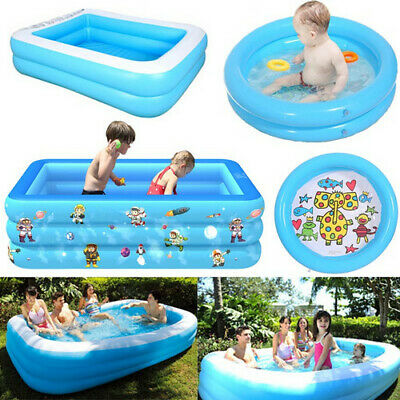 Kid Adult Summer Outdoor Inflatable Swimming Pool Playing Paddling Pool • 32.99£