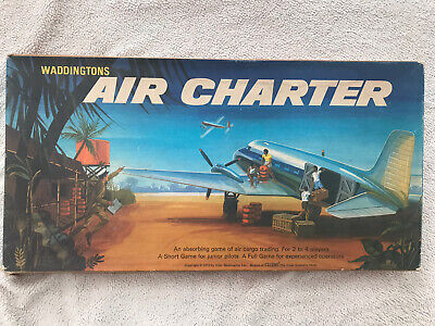 Waddingtons Air Charter Board Game 1970 Complete Excellent Condition • 9.99£