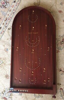 "Pastimes Bagatelle Board, 25"" X 19"" Pinball Board With 10 Steelballs  • 30£"