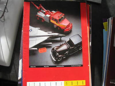 1986 Italeri Kits 4830 Page Catalogue In Excellent Condition • 1.95£