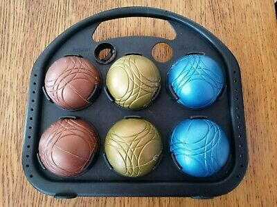 Boules Weighted In Carry Case • 9.99£