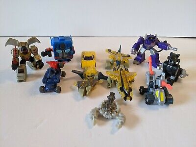 Bundle Job Lot Transformers Micro Bots And Other Cars Vehicles • 19.99£