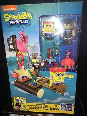 Spongebob Squarepants Megabloks Pirate Figure Pack • 20£