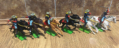 Britains Deetail  7th Cavalry Rare Chance To Get All 6 In A Set. • 76£