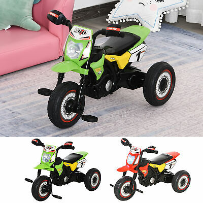 Toddler Pedal Tricycle Ride-On Early Learning W/ Music Lights 18-36 Months • 33.99£