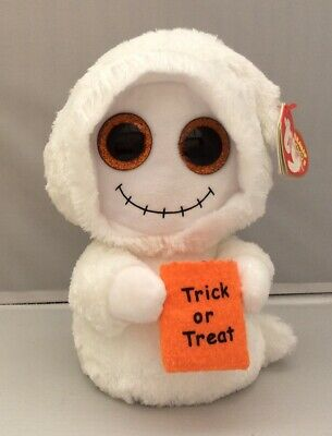 Ty Beanie Boos Mist The Ghost Soft Toy • 9.99£