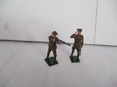 British Officer And Soldier Firing • 10£