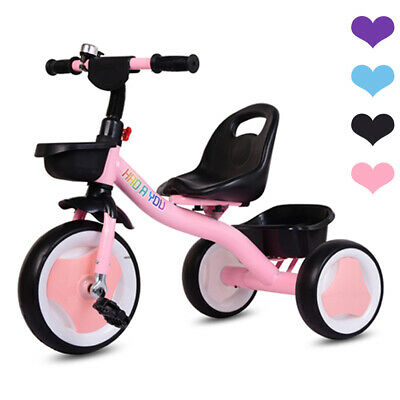 Baby Kids Trikes Toddlers Boys Girls 3 Wheels Pedal Bike Children Tricycle Gifts • 27.99£