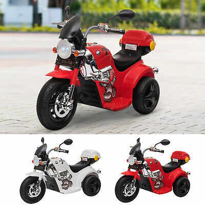 3km/h Electric Motorbike Ride On Vehicle Lights Music Horn Storage 18-36 Month • 42.99£