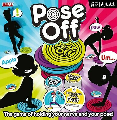 Pose Off Game By IDEAL • 14.99£