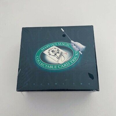Marvins Magic Collectable Card Tricks Volume 2 • 16£