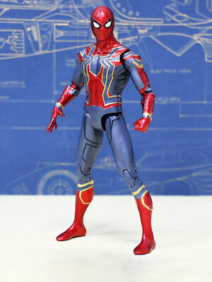 Avengers 3 Infinity War Iron Spiderman 6  Spider-Man Action Figure Toys Gifts UK • 7.74£
