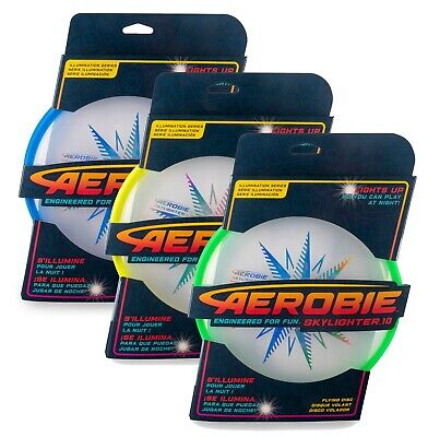 Aerobie Skylighter 10 LED Frisbee (10  Light-up Flying Disc) • 19.94£
