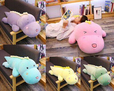 Plush Toy Cute Dinosaur Pillow Soft Plush Doll Filled Doll Child Birthday Gift • 14.78£