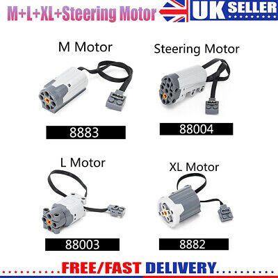 4PCS For Lego Technic Power Functions Servo Motor 88004 Steering Motor 8883 8882 • 23.29£