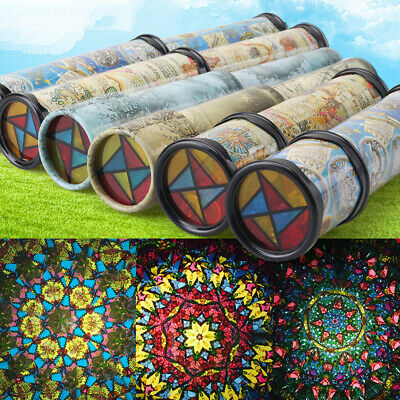 21cm Kaleidoscope Children Toys Kids Educational Science Classic Gifts Toys • 5.49£