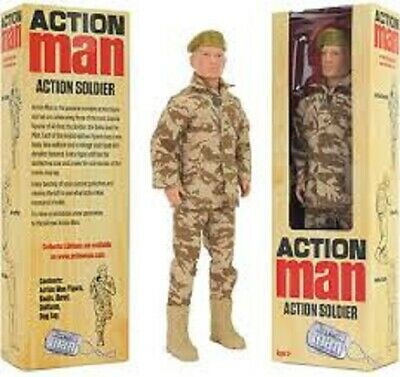 Action Man 12  Soldier Figure (discontinued) Brand New & Sealed ~ Great Gift!!!! • 12.95£