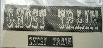 Funfair Ghost Train Stickers For Code 3 Lot A • 3.80£
