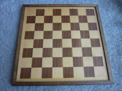 Old Wooden Chess Board. • 9.99£